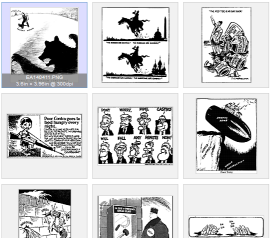 Cold War Political Cartoons